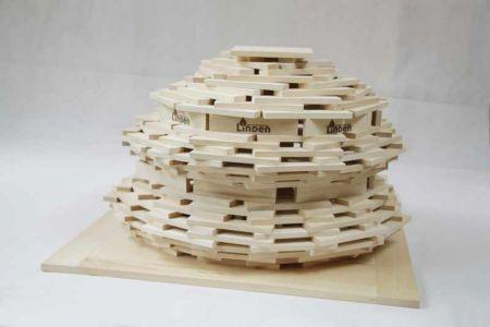 Drewniane Klocki Konstrukcyjne Linden  (1)