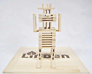 Drewniane Klocki Konstrukcyjne Linden  (3)