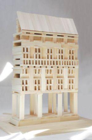 Drewniane Klocki Konstrukcyjne Linden  (4)
