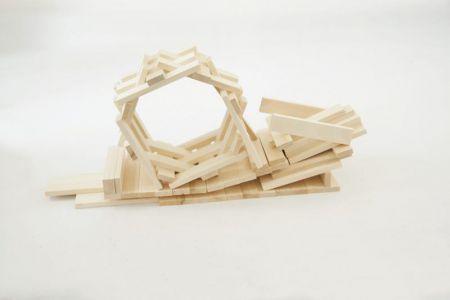 Drewniane Klocki Konstrukcyjne Linden  (5)