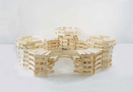 Drewniane Klocki Konstrukcyjne Linden  (9)