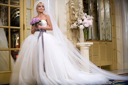 Kate Hudson W Sukni Vera Wang Ślubne Wojny 2009 Rok