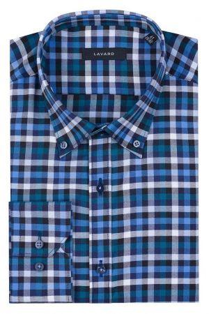 Koszula W Granatowo-niebieską Kratę 169,90 Zł