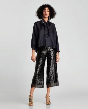 Koszula Wiązana Zara 299,00 Zł