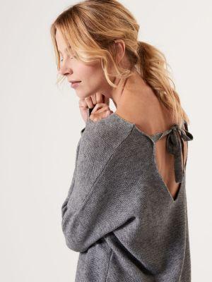 Miękki Sweter Z Dekoltem Na Plecach Mohito 119,99 Zł