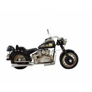 Motocykl Retro Replika Czarny Płomień 132,00 Zł