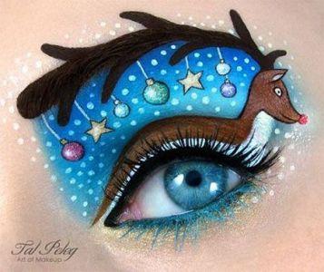 Oryginalny Makijaż Na Święta Pinterest (5)
