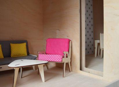 Playwood Factory- Ekologiczny Domek Dla Lalek