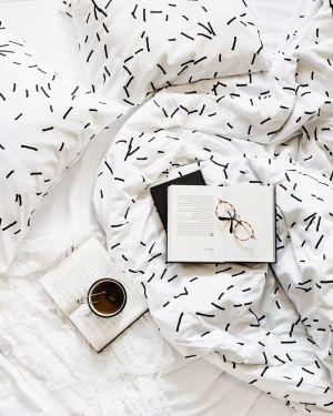 Pościel Patyczki White Pocket