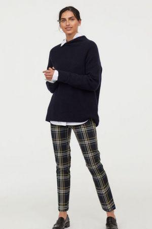 Spodnie Cygaretki Bez Zapięcia 79,90 Zł H&M