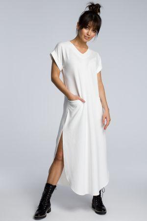 Sukienka Maxi Z Rozcięciami Po Bokach  159,00 Zł