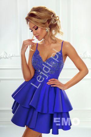 Sukienka Na Wesele Z Piankową Rozkloszowaną