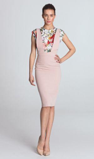 Sukienka Ołówkowa Z Szelkami Www.nife.pl 209,00 Zł