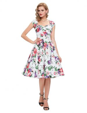 Sukienka Pin-up , Swingdress, Retro