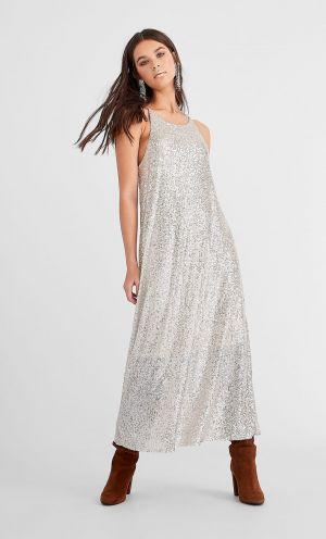 Sukienka średniej Długości Z Cekinami 139,00 Zł Stradiverius. Com 139,00 Zł