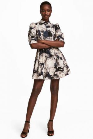 Sukienka Z Bufiastym Rękawem H&M 149,90 Zł