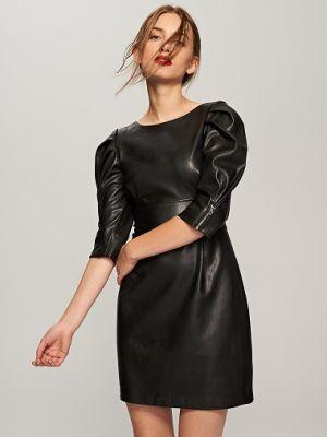 Sukienka Z Eko Skóry Reserved 169,99 Zł