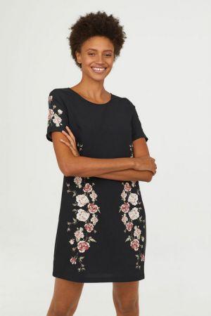 Sukienka Z Krótkim Rękawem 59,90 Zł H&M