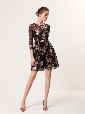 Sukienka Z Nadrukiem Kwiatów Mohito 159,99 Zł