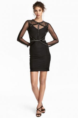 Sukienka Z Siateczki H&M 299,00 ZŁ