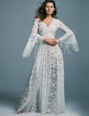 Suknie ślubne Z Długim Rękawem W Stylu Boho (4)