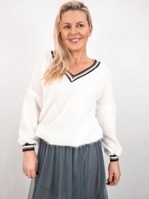 Sweter Kornelia Biały 120 Zł