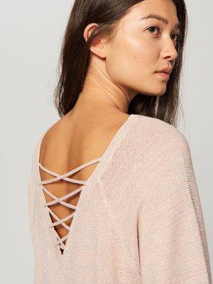 Sweter Z Ozdobnym Dekoltem Z Tyłu Reserved 99,99 Zł