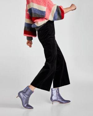 Sztruksowe Spodnie Zara 199,00 Zł