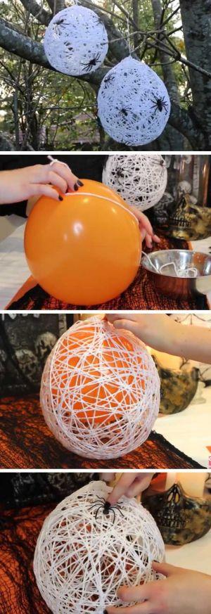 Balony  z pająkami