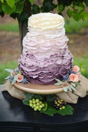 Lawendowy tort
