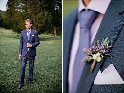 Lawendowy ślub - Pan młody