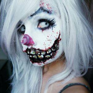 Charakteryzacja na Halloween