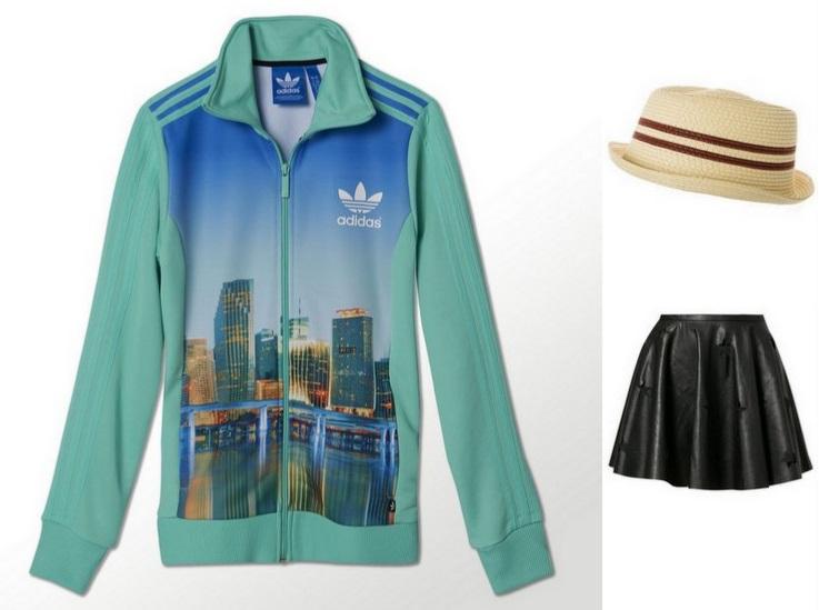 bluza spodnica kapelusz