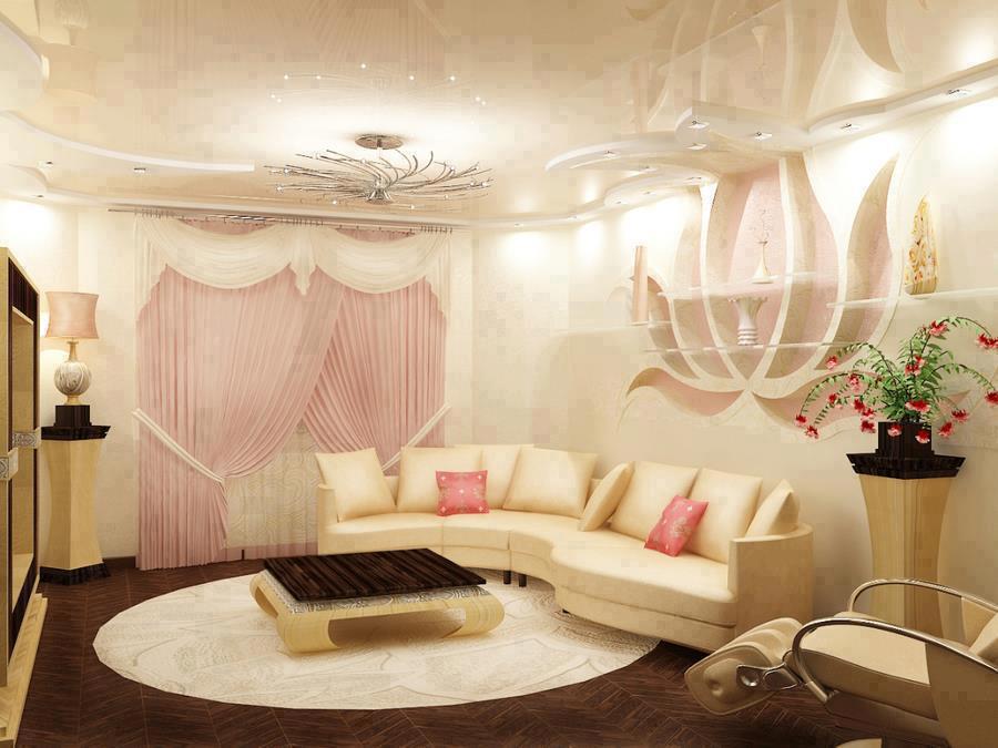 Floral-Living-room