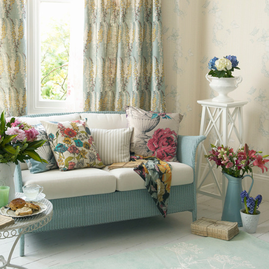 Chic And Colorful Living Room Decor For Spring: Portal Dla Kobiet