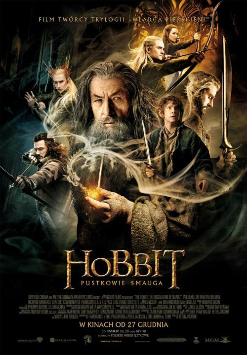 Hobbit Pustkowie Smauga_PLAKAT