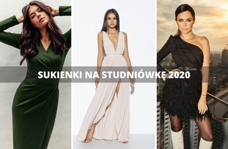 sukienka na studniówkę 2020