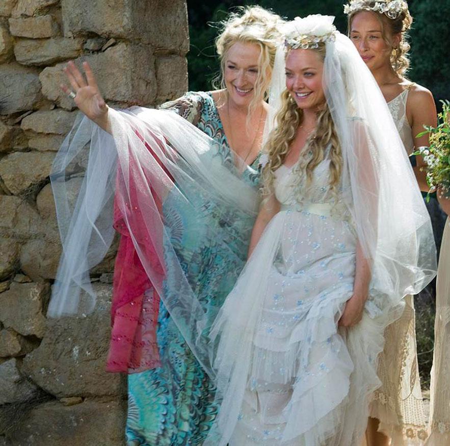 Amanda Seyfried dans le film Mamma Mia de Phyllida Lloyd en 2008