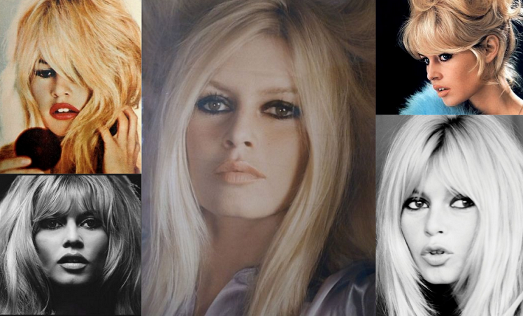 Brigitte Bardot makijaż