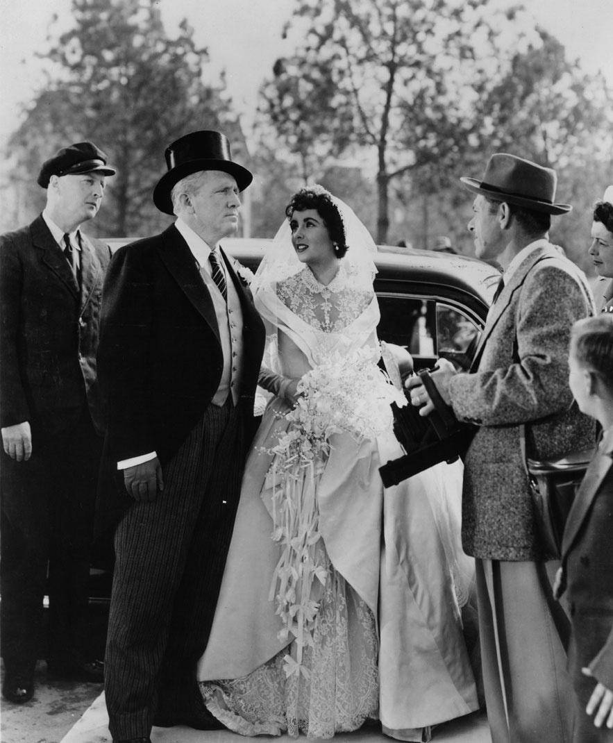 Elizabeth Taylor dans le film Le père de la mariée de Vincente Minnelli en 1950
