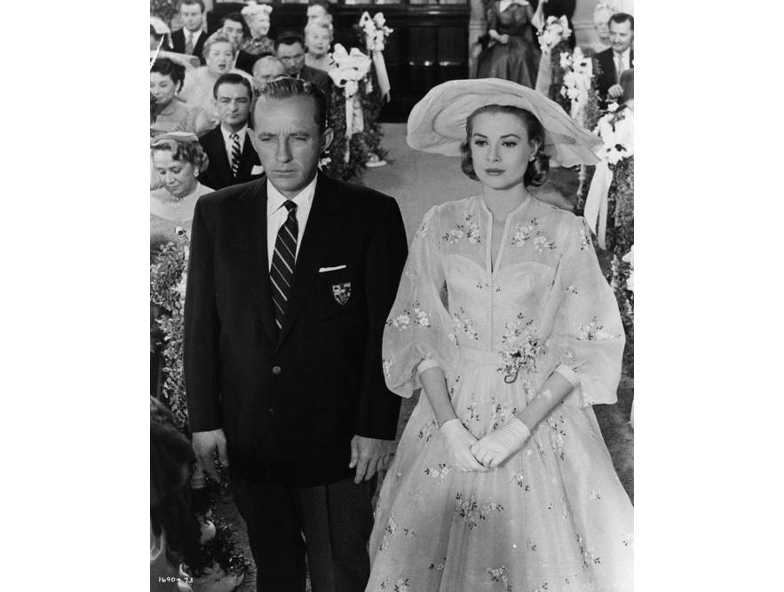 Grace Kelly et Bing Crosby dans le film Haute Société de Charles Walters en 1956