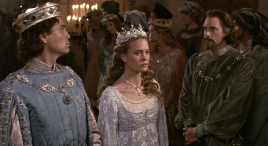 Robin Wright dans le film The Princess Bride de Rob Reiner en 1987