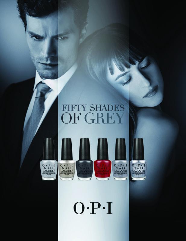 Lakiery do paznokci OPI inspirowane filmem Pięćdziesiąt twarzy Greya (1)