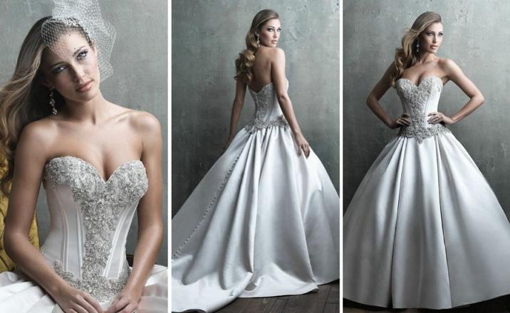 Gorset Suknia ślubna 1 Feszyncom