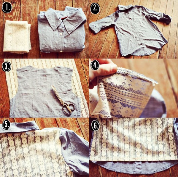 inspiracje koszula