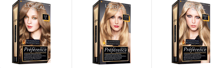 loreal blond