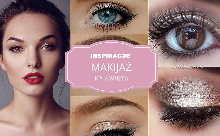 INSPIRACJE makijaż na święta