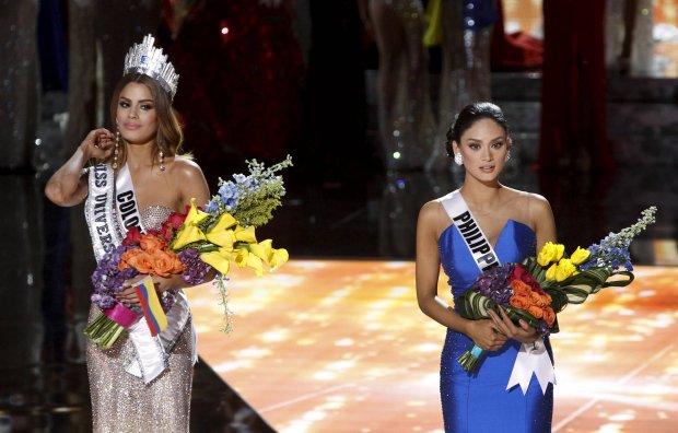 miss filipin i miss kolumbii