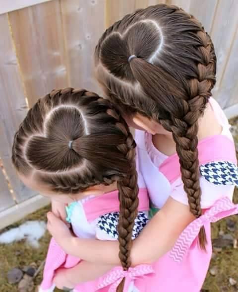 Fryzury Dla Małych Dziewczynek 19 Feszyncom