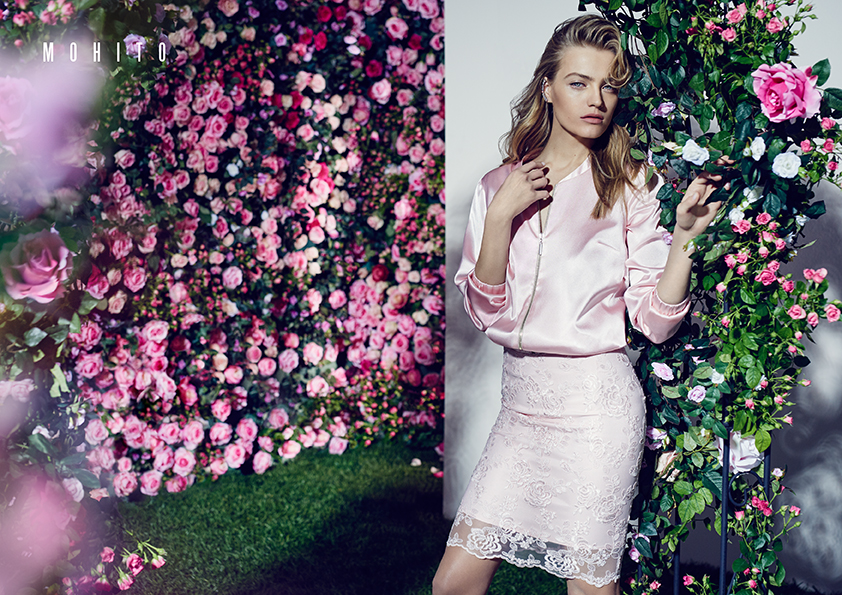 54105eae7d Anna Jagodzińska w kampanii Mohito na sezon wiosna-lato 2016